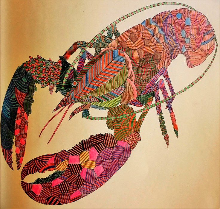 Colored Lobster